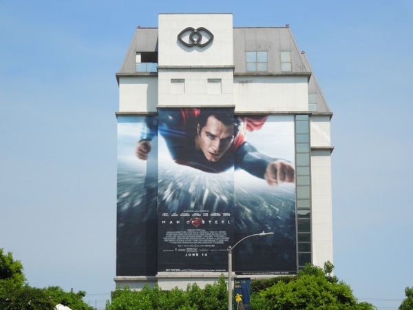 Giant Man of Steel billboard