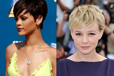 model rambut pendek untuk wajah hati