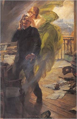 Albert Maignan, La muse verte (1895)