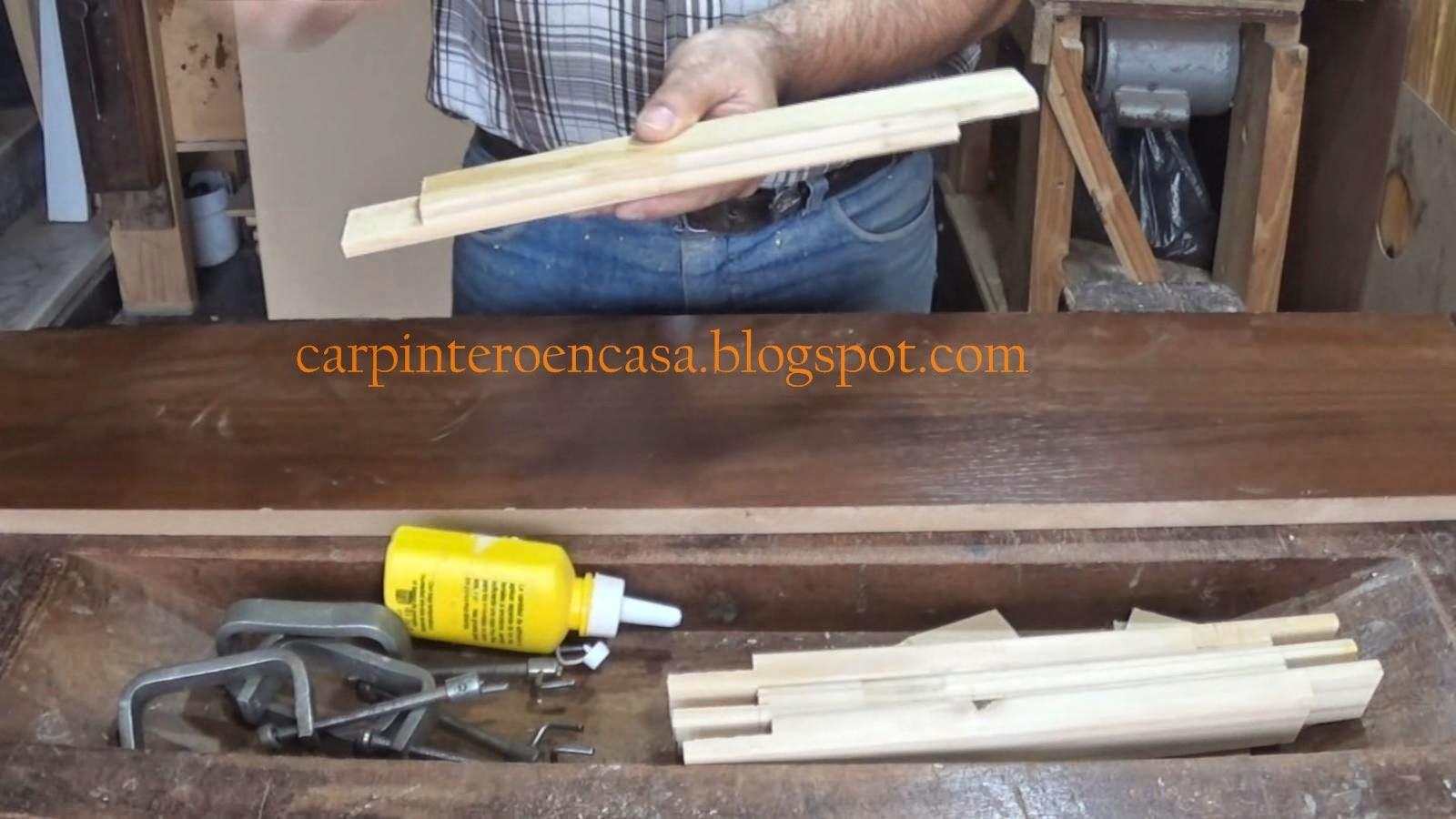 Carpintero En Casa Como Hacer Un Marco Para Cuadro ~ Como Hacer Un Marco Para Cuadro