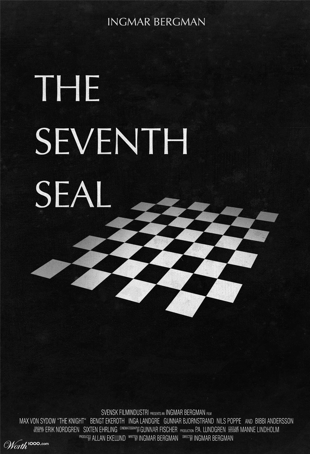 7th seal The seventh seal (swedish: det sjunde inseglet) is a 1957 swedish historical fantasy film written and directed by ingmar bergman set in denmark .