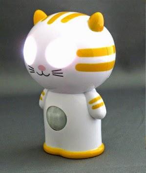 猫のセンサーライト