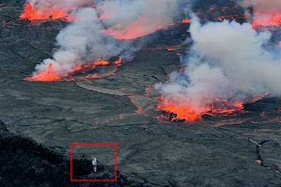 Expedicion al crater del volcan Nyiragongo - 8