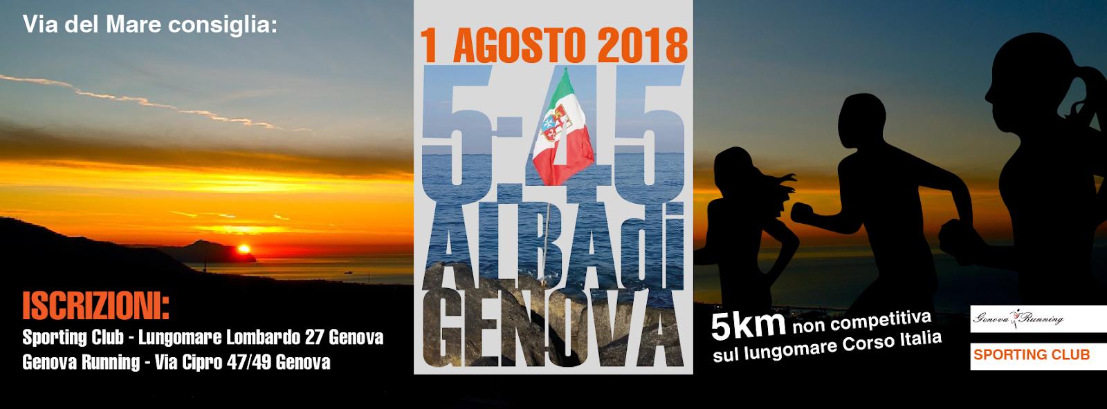 5:45 alba di Genova