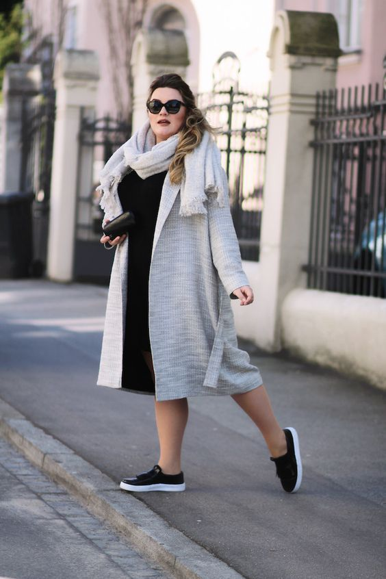 11 look con zapatillas súper chic para gorditas