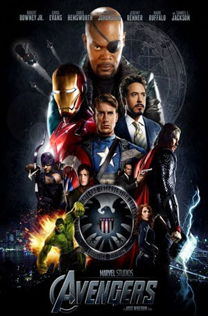 The Avengers: Official Theatrical Release Poster