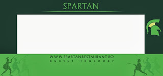 Spartan fatada food court