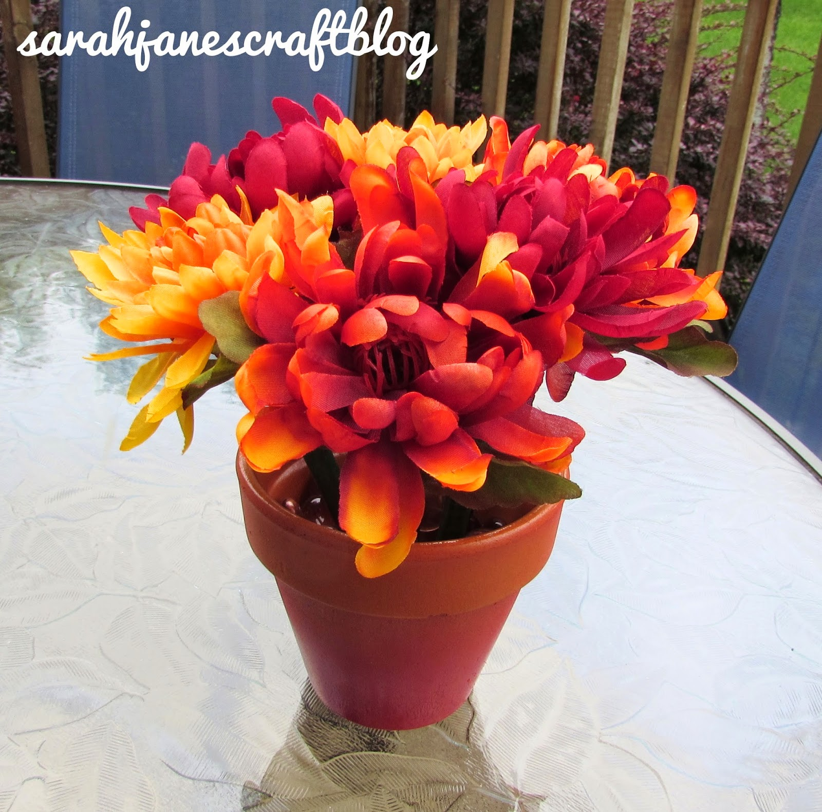 Sarah Jane\'s Craft Blog: Fall Pen Bouquet