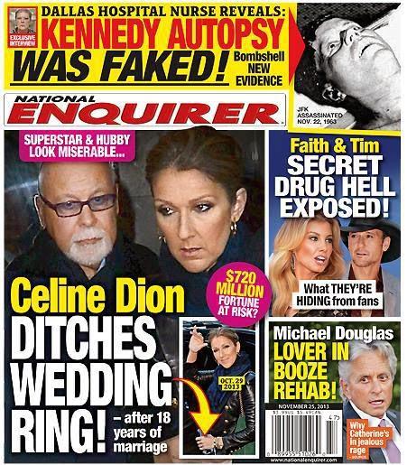 News Trend: Celine dion wedding ring