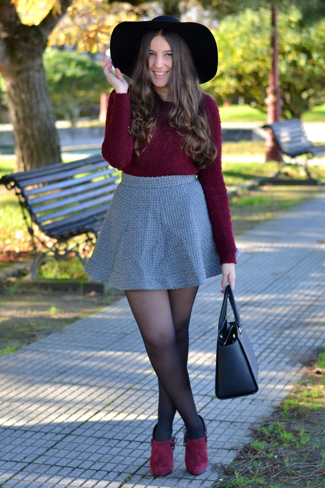 falda, choies, skirt, gris