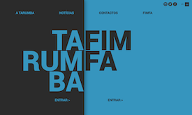 A Tarumba tem um novo site   We've just launched a new website: