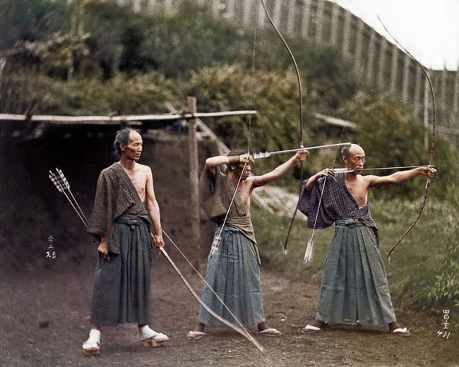 Samurai Training 1860.