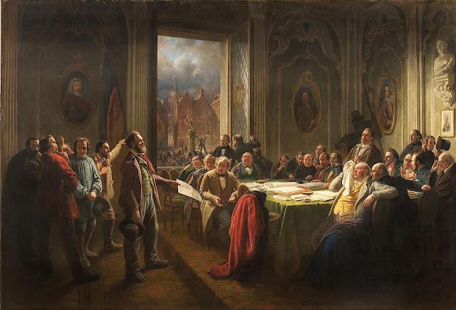 german painter,Johann Peter Hasenclever,Hasenclever