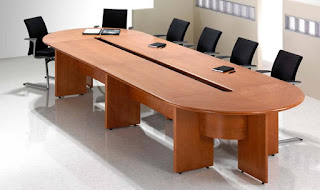 large boardroom table cable management