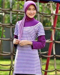 Kaos Muslim Exora A-036 Salur Ungu