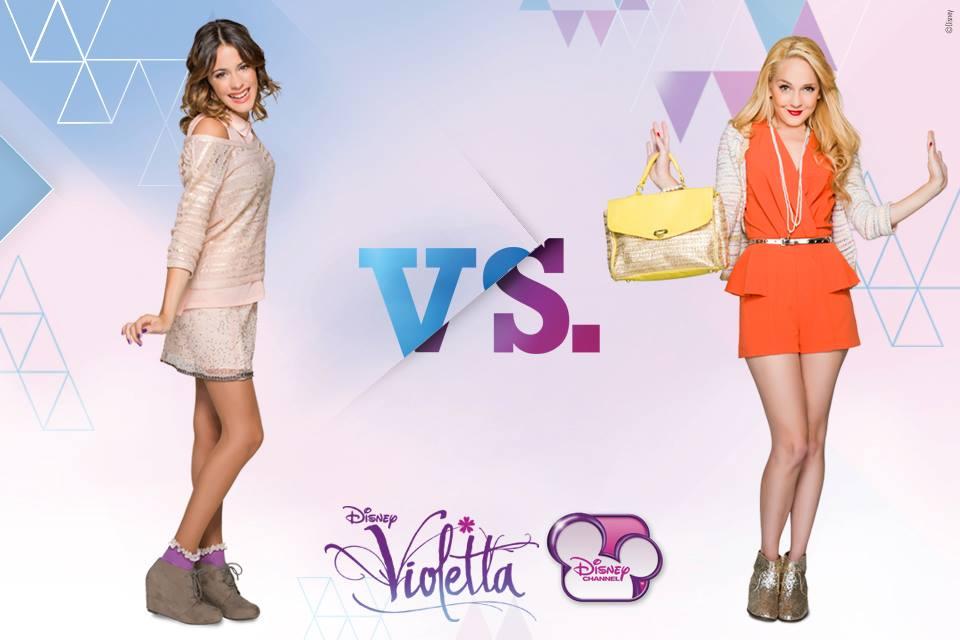 Combat de la semine : Violetta ou Ludmila ?