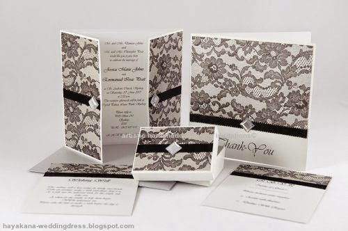 artistic handmade wedding invitations
