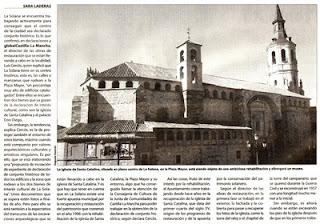 Atelier du patrimoine et d 39 architecture reconstrucci n - Parroquia santa catalina la solana ...
