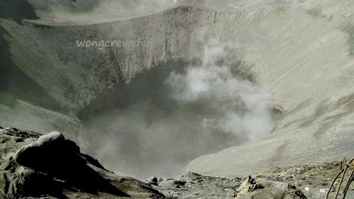 puncak kawah gunung bromo