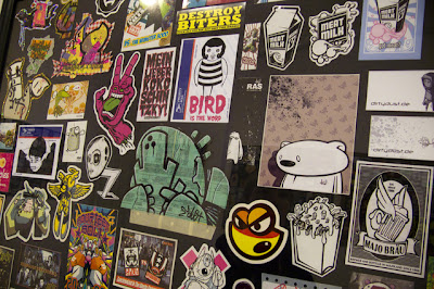 sticker street art design