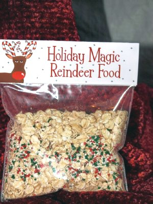 Use a regular brown lunch bag to make a reindeer with cut-outs from ...