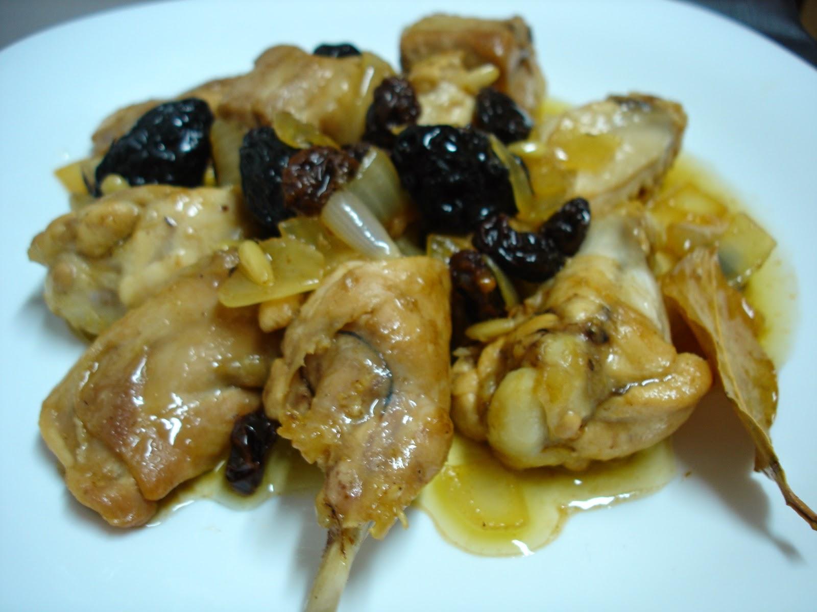 Cuinar i viatjar guisado de carne con ciruelas uvas - Carne con ciruelas pasas ...