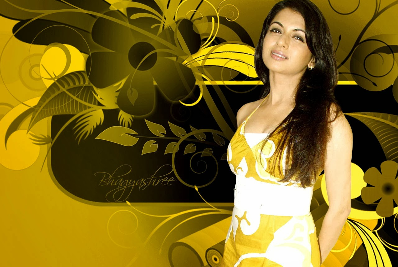 Bhagyashree HD Wallpaper