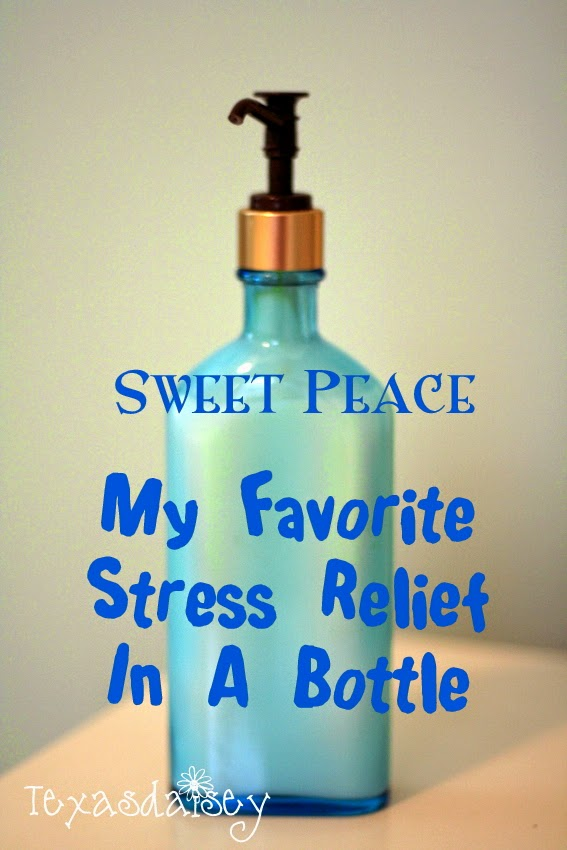 Sweet Peace Body Lotion Recipe that gives stress relief and smells like baby powder