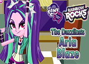 MLPEG The Dazzlings Aria Blaze