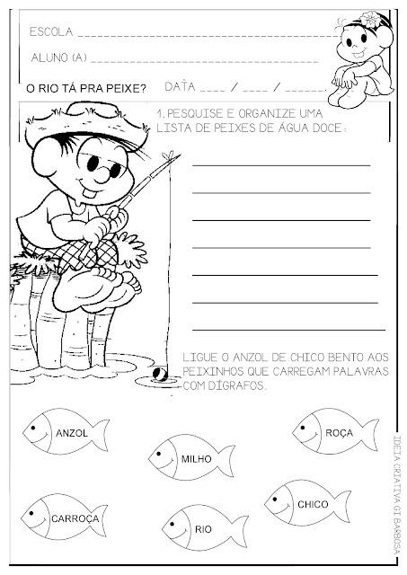 Atividade Dígrafos e Lista de Palavras