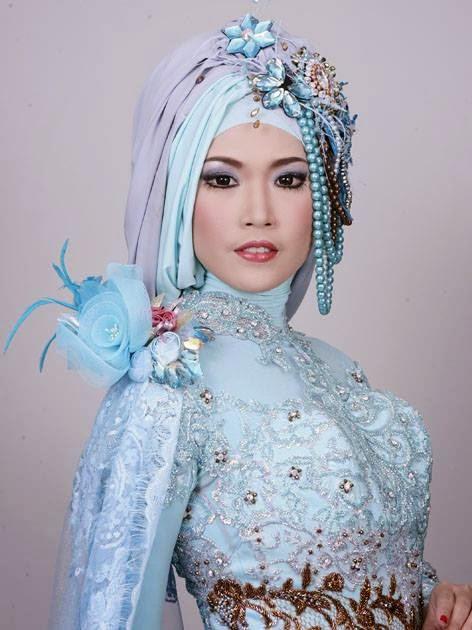 Wedding Planer & Organizer: Contoh Riasan Pengantin Hijab Style
