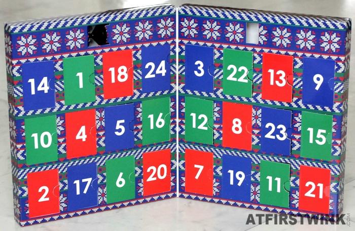 24 doors of the Ciaté Mini Mani Month 2013 calendar