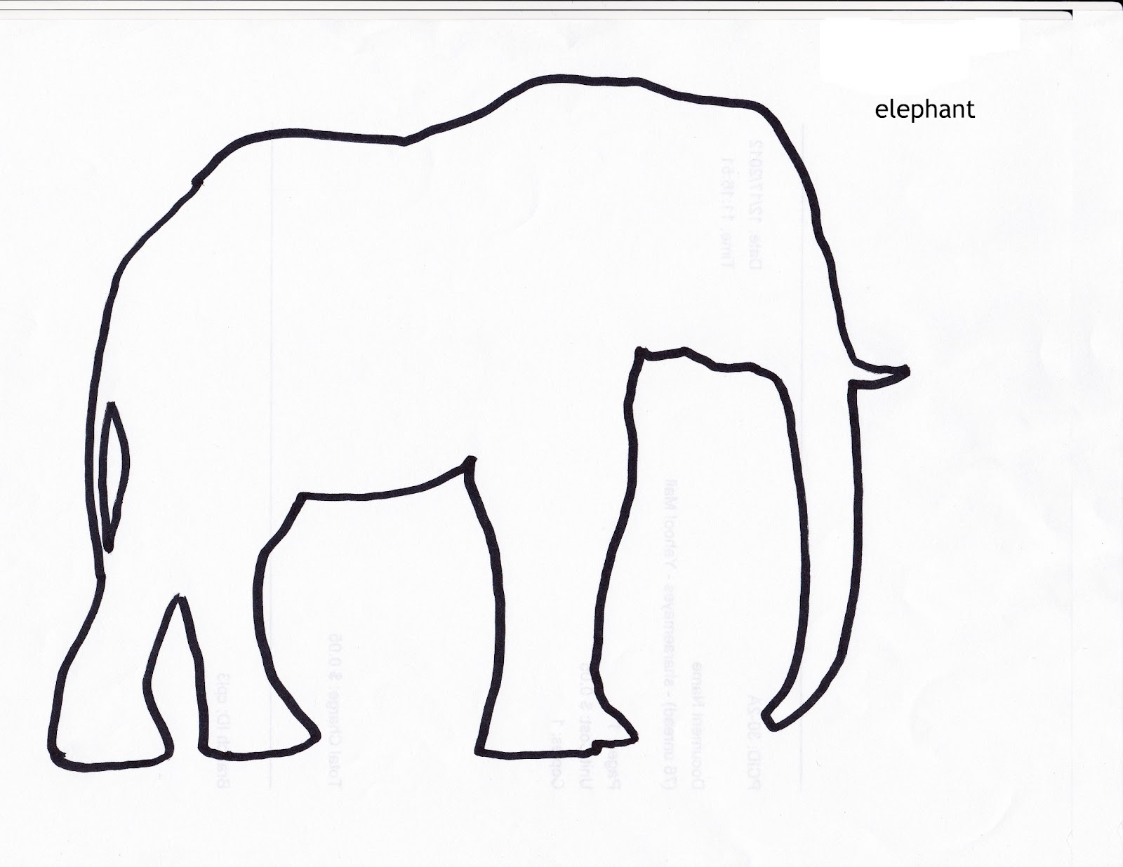 Story elf: Shadow puppets and collage is fun. Elephants, animals and ...