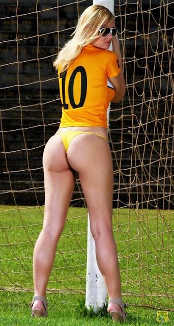 Brasiliense futebol clube e suas musas, Dayane, mulher sem roupa