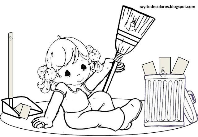 La ropa también debe estar limpia y sin manchas.