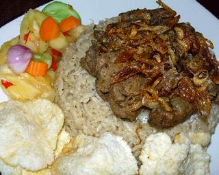 Resep Nasi Kebuli Daging Kambing