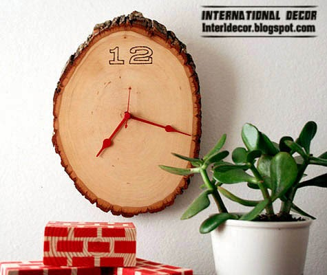 wooden clocks, modern wall clocks, decorative wall clocks