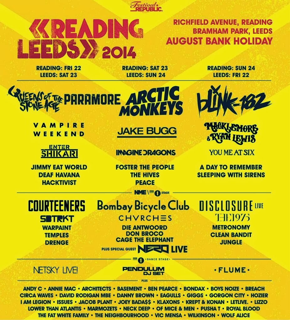 Queens Of The Stone Age and Paramore to headline Reading + Leeds Festivals
