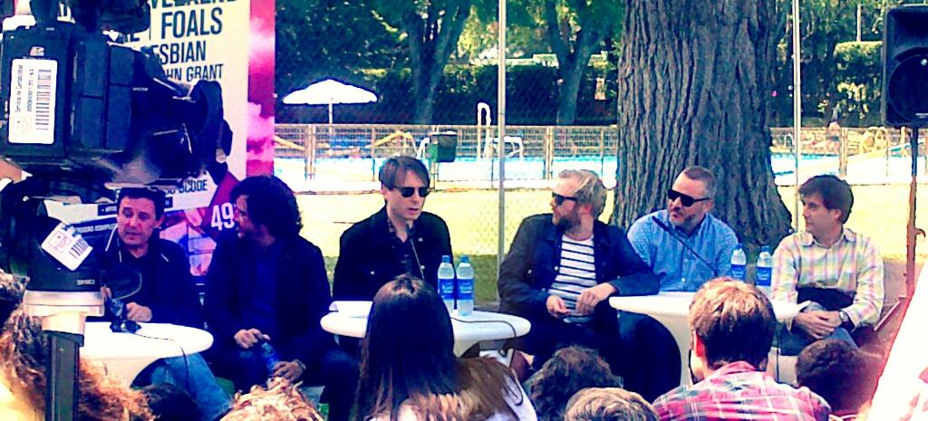 música, presentación DCODE 2013, Franz Ferdinand, Alex Kapranos, Bob Hardy