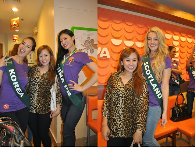 Miss earth 2013 dinner at yoshinoya glorietta rochelle rivera - Gloriette fer smeden ...