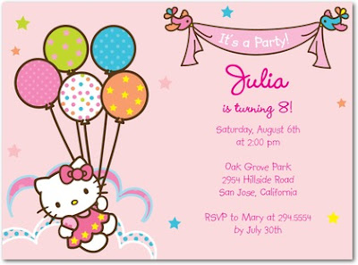 Tiny Prints Summer Invitation