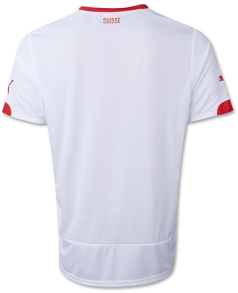 Jersey Timnas Swiss Away World Cup 2014 - Baju Bola Murah