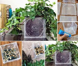 Reciclar Tapas de Cds, Ideas Ecoresponsables