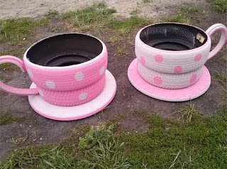 upcycled-tires-recycling-ideas-interior-design Brilliant Ways To Reuse And Recycle Old Tires