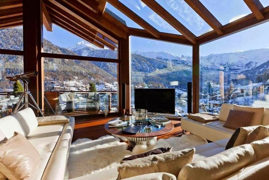 Luxury life design chalet zermatt peak outstanding for Boutique hotel alpen