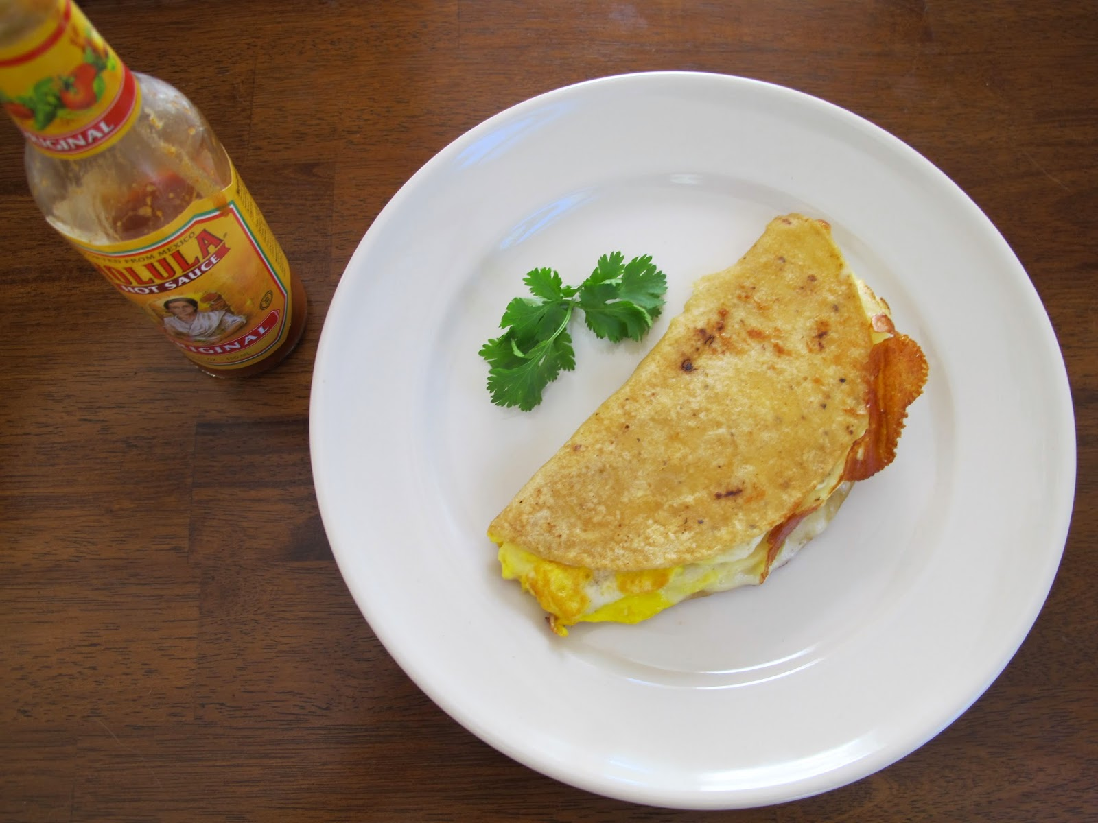 Single-Serving Breakfast Quesadilla