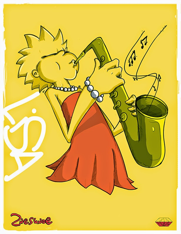Lisa Simpson by 2NES UNOe