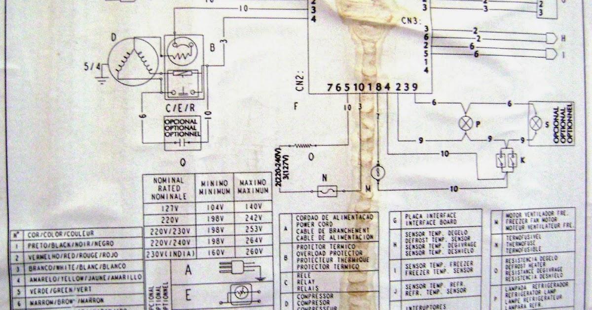 Como Consertar Seu Eletrodom U00e9stico  Brastemp - Consul E Electrolux  Diagrama