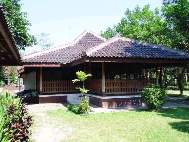 Model Rumah Adat Joglo Jawa Tengah Desain Modern