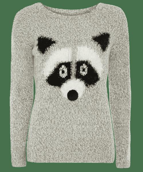 Primark online: jersey con dibujo de mapache